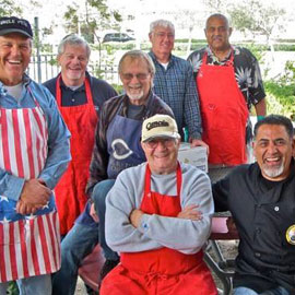 Cooking Up a Feast at the Men's Club Fish Fry